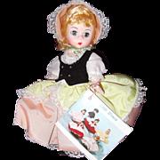"Madame Alexander Bo-Peep 8"" Doll w/ Box"