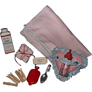 Effanbee Dy-Dee Baby or Tiny Tears Layette Items for your Doll Travel Trunk