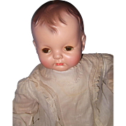 """Effanbee Large 25"""" Sugar Baby Composition Doll"""