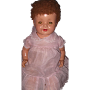 Adorable Effanbee Large Factory Lovums Baby Doll