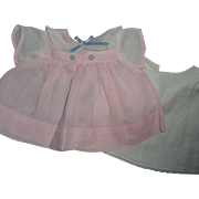 "Authentic Effanbee TAGGED Dy-Dee Dress for 15"" Baby Doll"