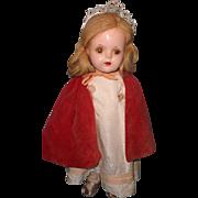 "Factory Princess Elizabeth 15"" Composition Doll by Madame Alexander"