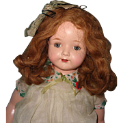 "Factory Original Large 27"" Rosemary Composition Mama Doll"