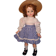 Effanbee Flirty Eye Composition Honey Doll