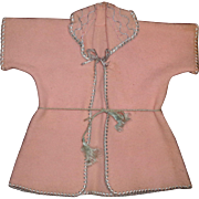 """Authentic Effanbee Dy-Dee Eiderdown Robe for 15"""" baby Doll"""