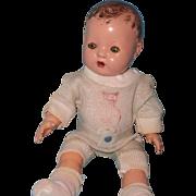 """Effanbee Dy-Dee Wee 9"""" Baby Doll"""