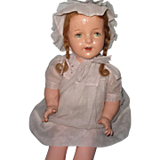 "Large Factory Original 27"" Composition Mama Doll"