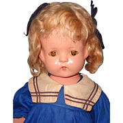 """Factory Original Effanbee 22"""" Patsy Lou in HTF Sailor Dress Composition Doll"""