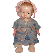 Early Composition Deco Effanbee Boy Doll ~ Adorable