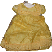 Authentic Madame Alexander TAGGED Princess Elizabeth Composition Doll Dress