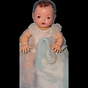 "Effanbee 11"" Dy-Dee Mold 1 Baby Doll w/ Extras"