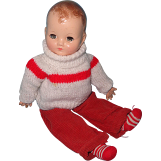 Sweet Effanbee Baby Boy Composition Doll