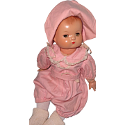 "Darling 13"" Effanbee Composition Baby Doll"
