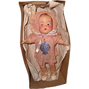 Factory Original Ritzy Chubby Composition Baby Doll w/ Box