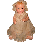 "Factory HTF 14"" Effanbee Baby Bubbles Composition Doll"