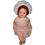 "Sweet 21"" Effanbee Composition Baby Doll"