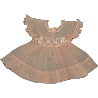 """Authentic Effanbee Dy-Dee Party Dress for 15"""" Baby Doll"""