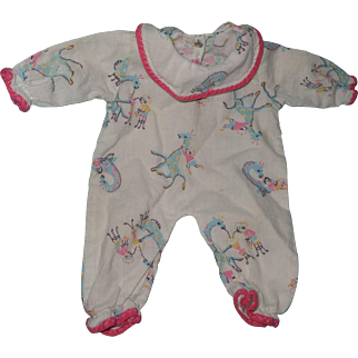 """Really Sweet Tiny Tears Pajamas for 11"""" Baby Doll ~cute for Dy-Dee too"""