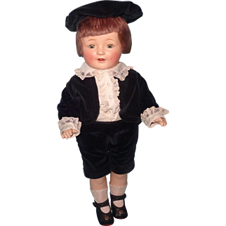 Gorgeous Factory Original Horsman Composition Boy Doll
