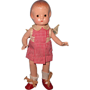 "Effanbee 9"" Patsyette Composition Doll"