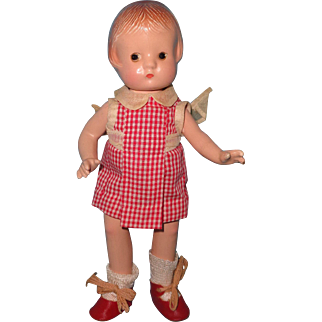 """Effanbee 9"""" Patsyette Composition Doll"""