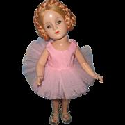 """Rare Madame Alexander 14"""" Karen Ballerina TLC Composition Doll"""
