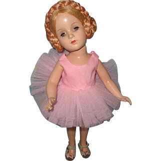 """Rare Madame Alexander 14"""" Nina Ballerina TLC Composition Doll"""
