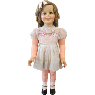 """Ideal 36"""" Shirley Temple PlayPal ~ Gift Giving Condition"""