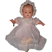 Effanbee Factory Original Baby Evelyn Composition Doll