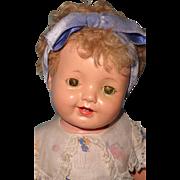 Rare Effanbee Patsy Ann Lovums VARIANT Composition Doll