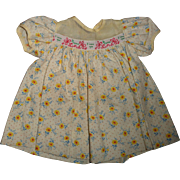 """Effanbee Dy-Dee """"I Love You"""" Dress for 15"""" Baby Doll"""