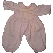 """Authentic Effanbee Dy-Dee Eiderdown Snow Suit for 20"""" Baby Doll"""