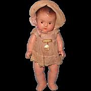 "Madame Alexander 7"" Dionne Quintuplet Composition Doll ~ Factory Original"