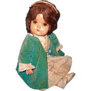1940s Sweet Toddler Composition Baby Doll
