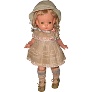 Adorable Effanbee Patsy Sleep Eye Composition Doll
