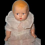 Effanbee Baby Grumpy Composition Doll