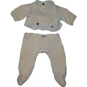 Nitey Nite 2 pc Pajamas for Dy-Dee Baby or Tiny Tears Doll