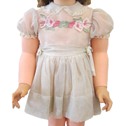 """Authentic Ideal Shirley Temple Playpal Dress for 36"""" Doll ~ Think XMAS"""