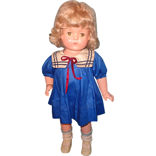 Stunning Factory Original Effanbee Patsy Lou Composition Doll ~ Sailor Outfit