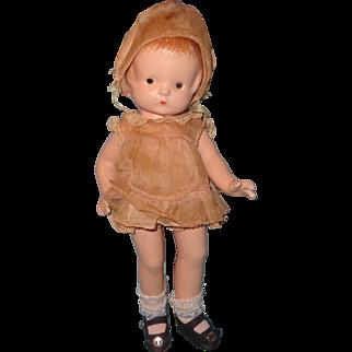 "Factory Original Effanbee Patsy Jr 11"" Composition Doll"
