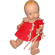 "Very Sweet Harriet Flanders ""Little Cherub"" Composition Baby Doll By Averill"