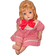 "Very Pretty 17"" Composition Mama Doll"