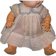 """Authentic Effanbee Dy-Dee Swiss Dot Dress for 15"""" Baby Doll"""