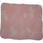 Authentic Effanbee Dy-Dee Baby Signature Blanket ~ Rare