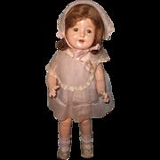 Pretty Factory Horsman Rosebud Composition Doll