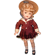 1940s Factory Original TAGGED BettyAnn Composition Doll
