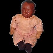 Factory Original Black Composition Baby Bumps Doll
