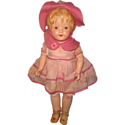 Factory Original Madame Hendren TAGGED Composition Doll ~ Very Pretty