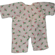 """RARE Effanbee Dy-Dee WEE Pajamas for 9"""" Baby Doll"""