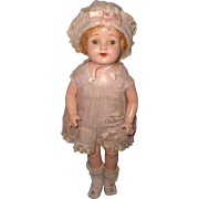 "Factory Original Madame Hendren 20"" Composition Doll ~ Very Pretty"